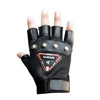 Wholesale Function Exercises - HETOBETO Men Sports Fitness Gloves Exercise Training Gym GlovesHalf Finger Weightlifting Gloves Multi function Glove Three Colo