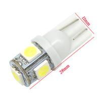 Wholesale led door plate light for sale - Group buy 10pcs Auto T10 LED W5W Wedge Door Parking Bulb Light Car LED Dome Festoon C5W C10W License Plate Light DRL