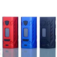 ingrosso blu mods box-Originale scatola Hotcig G177 Mod HMchip alimentato 177W Vape E sigaretta nero rosso blu 3 colori schermo a colori da 0,96 pollici DHL LIBERA