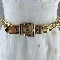 rhinestones chian venda por atacado-Cinto de prata cinto de ouro moda chian moda cintos de metal feminino prata strass chuny punk designer de cinto para as mulheres S18101806