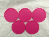 "столы воздушный хоккей оптовых-Free shipping 5pcs/lot pink Air hockey table pusher puck 63MM 2-1/2"" GoalieS 6321"