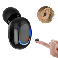 unsichtbare ohr drahtlose kopfhörer großhandel-Bluetooth Ohrhörer Wireless Headset Mini Auto Kopfhörer Hände frei Anruf unsichtbare In-Ear-Mikrofon für iPhone Smartphones Android