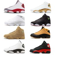 Wholesale christmas cave - 2018 popular 13 Basketball Shoes fashion Wheat grey black Harvest Elemental cave Men 13s Basketball Sneaker Altitude Sports discount