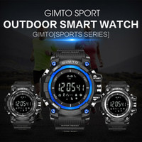 bracelete de escalada venda por atacado-Esportes dos homens relógios Multi Funcional relógio inteligente pedômetro altitude altitude termômetro ao ar livre à prova d 'água pulseira de escalada wristwat
