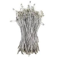 colgar etiquetas colgadas al por mayor-Sujetadores elegantes para etiquetas colgantes - Paquete de 1000 - 4
