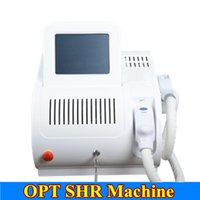 Wholesale hair pigments - 2018 Vertical OPT SHR IPL Machine Painfree Permanent IPL Hair Removal Radio elight IPL Skin Treatment Pigment Acne Therapy Beauty Equipment