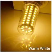 luzes g8 venda por atacado-Lâmpada LED de silicone Escurecimento da lâmpada de milho 110V 220V G4 G8 G9 E11 E14 E17 BA15D Luz branca quente / pura / fria Substitua a lâmpada de halogênio