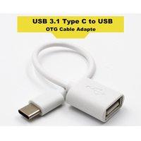 usb otg kabel großhandel-USB 3.1 Typ C zu USB OTG Kabel Adapter für Xiaomi Huawei HTC OTG Typ C Ladegerät Datenkabel