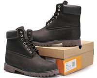 sugeçirmez tasarımcı ayakkabıları toptan satış-Erkek Lüks Su geçirmez Boots Dağcılık Ayakkabıları Yürüyüş Eğitmenler Spor ayakkabılar Tasarımcı Askeri Boot Moda Roman Martin Çizme