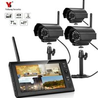 Wholesale wireless outdoor cctv monitor for sale - Group buy 7 quot LCD CH Wireless CCTV Camera DVR Digital Video Home Security System Outdoor baby monitor kit sd card motion detection