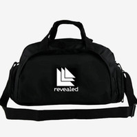 Wholesale best luggage for sale - Group buy Revealed duffel bag Hardwell records label tote Best DJ Recordings music backpack way use luggage Trip shoulder duffle Sport sling pack