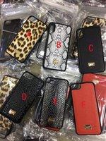 Wholesale Plastic Crocodiles - For iPhoneX 8 8plus Luxury matte leopard crocodile pattern phone case shell for iPhone 7 6 6S 7plus.