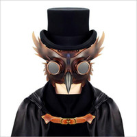 Wholesale steampunk mask for sale - Unisex Steam punk Plague Bird Doctor Party Cosplay Fancy Gothic Medieval Steampunk Retro Rock Mask for Masquerade Party Halloween Costume