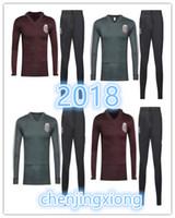 Wholesale mexican jacket - Mexico jacket 2018 Soccer Mexican training suit 10 Giovani dos Santos 14 Javier Hernandez 18 Andres Guardado 19 PERALTA 4 MARQUEZ 11 VELA.
