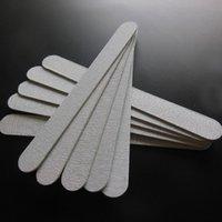 ingrosso bordo monouso-Lima per unghie in legno Lima per unghie sottile in legno monouso in legno per smalti manicure strumento 100 pz / lotto 180/240