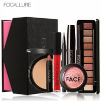 Wholesale daily tools online - FOCALLURE Daily Use Cosmetics Makeup Sets Make Up Cosmetics Gift Set Tool Kit Makeup Gift sets DHL free