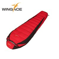 Wholesale Duck Down Mummy Bag - Fill 1200G 1500G 2000G 2500G Down Adult Sleeping Bag Winter Tourists Mountaineering Outdoor Camping Duck Down Sleeping Bag