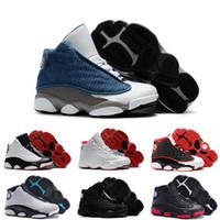 zapatos de baloncesto para niños talla 13 al por mayor-Nuevos niños 13 13s zapatos de baloncesto Chicago Obtuvo el juego Bred altitud DMP niños niñas zapatillas niños bebé calzado deportivo tamaño 11C-3Y