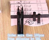 Wholesale Tattoo Women - Waterproof Brown 7 Days Eye Brow Eyebrow Tattoo Pen Liner Long Lasting Makeup Women Gifts High Quality Eyebrow Liner