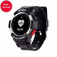 Wholesale Heart Rate Calorie Monitor - 2018 NEW Outdoor Sports Fashion Smart Men's Watch F6 Bluetooth Heart Rate Calorie Monitoring Phone Info Reminder Smartwatch