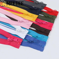 Wholesale tailor accessories for sale - Group buy Meetee Zippers Open End cm Resin Zipper For Sewing Garments Long Coat Down Jacket DIY Zip Craft Tailor Accessories