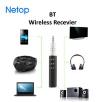 Wholesale sony play - BT Mini Bluetooth Receiver Car AUX Audio Wireless Receiver Adapter Hands free Calling and Wireless Music Playing mm AUX