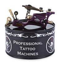 ingrosso macchine tatuaggio rotante viola-Mitragliatrice rotativa Tattoo Body Art in lega di colore viola Grande per foderare sfumature e riempire Silent_low vibrating_low heating