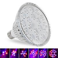 par38 wachsen licht großhandel-LED wachsen Lichter 15W 21W 27W 36W 45W 54W E27 PAR38 PAR30 Birne für Blumen-Betriebshydroponik-System wachsen Kasten