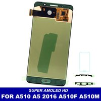 Wholesale samsung galaxy a5 screen assembly for sale - Super AMOLED LCDs Replace For Samsung Galaxy A5 A510 A510F A510M A510FD A5100 LCD Display Touch Digitizer Screen Assembly