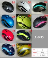 Wholesale painting roads for sale - Group buy 2019 Colors Painting available for selection ABUSES movistar GAMECHANGER for mtb road cycling bicycle Ultralight helmet on Safety design
