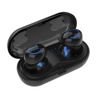беспроводной наушник для ipad оптовых-Q18 TWS беспроводные наушники мини Bluetooth наушники в ухо Sweatproof спортивные наушники для iPhone Samsung iPad Android телефонов