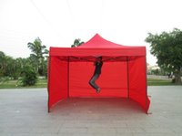 Wholesale Custom Tents - DANCHEL Gazeble 2X2 2x3 3x3 3x Meters Commercial Folding Tent with Three Wall Portable Event Canopy Tent, Can be Custom