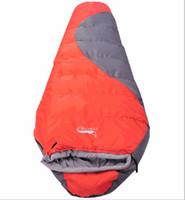 sacs de couchage d'hiver pour adultes achat en gros de-Dropshipping nouvelle arrivée adulte professionnel hiver en plein air coton épaississement-10 degrés camping randonnée sac de couchage momie