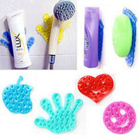 Wholesale Toothbrush Toothpaste Holder For Bathroom - 1PC Suction Magic Sucker For Bathroom Stickers Mobile Phone Stand Holder Vacuum Sucker For Toothpaste Toothbrush Holder ZM