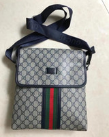 Wholesale Mens Small Handbag - 2018 New Mens small canvas Messanger Bags Crossbody Shoulder Bags For Men Business Outdoor Casual Traver Small Handbags Purse