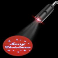 anúncio do natal venda por atacado-Projetor LEVOU Noite luz Novidade Iluminação Bem-vindo FELIZ NATAL Logo E27 110 V 220 V Publicidade luz de Emergência lâmpada