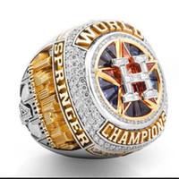 Wholesale Houston Jewelry - 2018 fashion sport Jewelry 2017-1018 Houston Astros Championship Ring fans souvenir gift