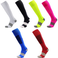 Wholesale high pressure hoses - Men s mmHg Graduated Compression Socks Firm Pressure Circulation Quality Knee High Breathable Hose Sock Airplane Travelers