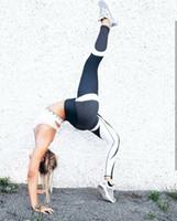 Wholesale print leggins xl resale online - New Mesh Pattern Women Print FFitness Leggings Push Up Elastic Workout Leggins Slim Black Pants Sweat Trousers Slim Fitness Hot Sale