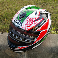 Wholesale Open Face Helmet Dot - New arrival Brand Valentino Rossi motorcycle helmet MOTO Kart racing full face helmet men motociclistas capacete DOT M L XL XX 8