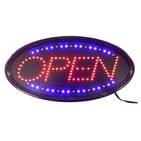 Wholesale neon bar signs online - LED OPEN neon light sign neon light indoor Plastic PVC frame Display for business hotel bar window advertisment board