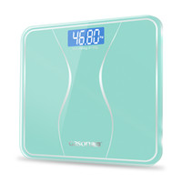 Wholesale Digital Scale Balance Body - GASON A2s Bathroom Body Scales Glass Smart Household Electronic Digital Floor Weight Balance Bariatric LCD Display 180KG 50G