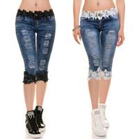 2c5177c3d0d3 Venta al por mayor de Pantalones Cortos Diseñados En Denim - Comprar ...