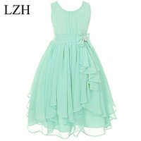 Wholesale clothing for 11 years for sale - Group buy Girls Princess Dress Summer Girls Birthday Dress Flower Girl Dress For Weddings Party Kids Costume Children Clothes Year