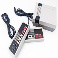 Wholesale video games online - New Arrival Mini TV can store Game Console Video Handheld for NES games consoles with retail boxs dhl