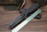 Wholesale best knives for self defense for sale - Group buy The latest CM75 quick open knife steel tiger tactical folding knife for the best Christmas presents for a survival bag knife full steel
