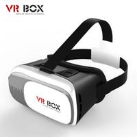 iphone de los vidrios 3d de la cartulina al por mayor-VR BOX II 2.0 Google Cardboard 3D Juegos de películas Glasses Version Cristal de realidad virtual para iPhone 6 6s 7 Plus Samsung S7 S6 Edge S5