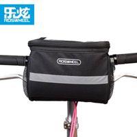 sacoche de vélo achat en gros de-vente en gros VTT vélo guidon sac équitation vélo téléphone cas sac sacoche avant vélo cycle sac / couverture / panier sacoche velo