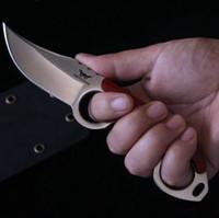 karambit bıçakları üstleri toptan satış-Sabit bıçak avcılık Düz Bıçak Pençe Karambit bıçaklar Taktik Survival EDC Aracı Açık Geer Kamp En kaliteli Fabrika satılık MH152-B