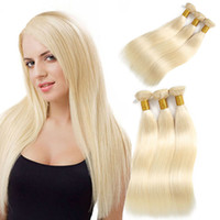 Wholesale long straight hair weave 22 inch online - Peruvian Human Hair Bundles Color Human Hair Weaving Inches Long Straight Remy Human Hair Extensions